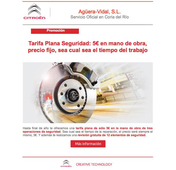 Newsletter de Agüera-Vidal