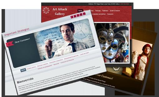 Sitios web y tiendas online